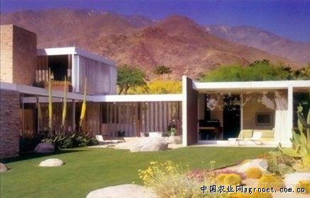 考夫曼沙漠别墅分析