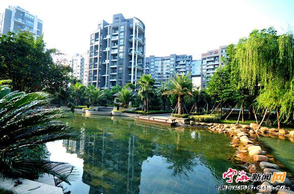 宁波宁海县积极争创生态园林城市(图)