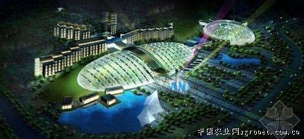 青岛鳌山卫地区鹤山旅游度假区规划设计