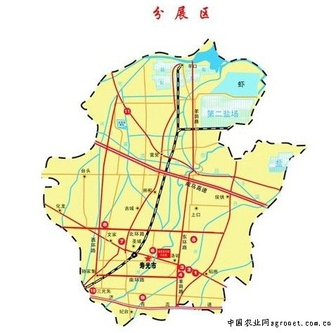 山东寿光地图全图