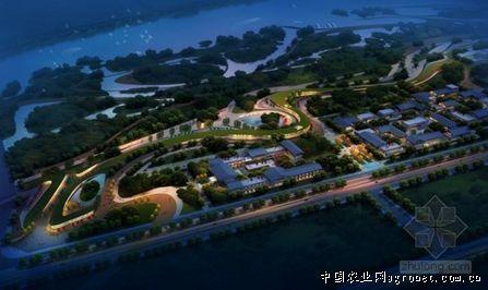 汉中市滨江新区绿地公园景观设计