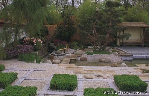中国农业网首页 农业资讯 园林 设计作品 > 国外风格小花园欣赏
