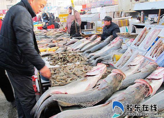 短期的减产对莱州的海鲜市场供应几乎