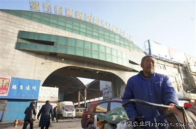 青海西宁海湖路蔬菜综合批发市场搬迁工作进展顺利(图