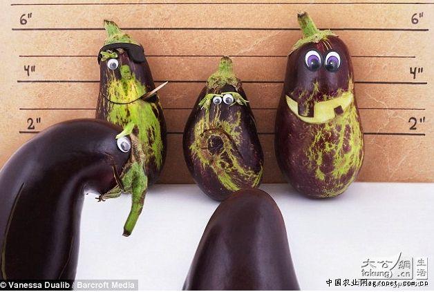 巴西圣保罗展示蔬菜和水果制造出的动物雕像(图)