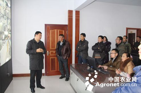 湖北咸丰县畜产品质量安全电子监控系统投入使用