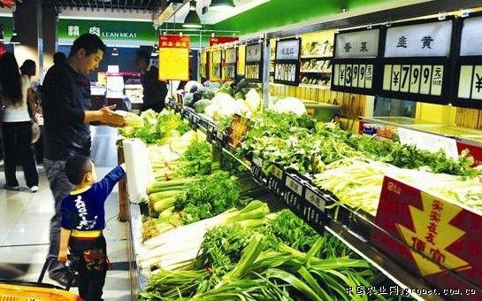 绿色 山东/近日,记者走访部分蔬菜市场及超市了解到,节后蔬菜、粮油和...