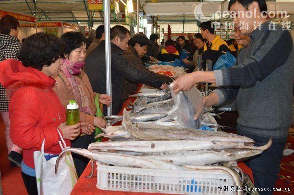 舟山供应会丰富春节海鲜市场(图)