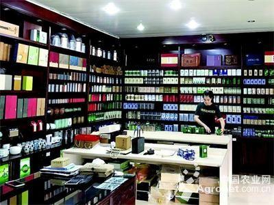 走进杭州西湖茶叶市场 打开茶都世界窗