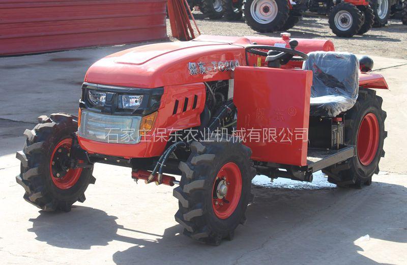供应保东果园管理用小型四轮四驱拖拉机图片