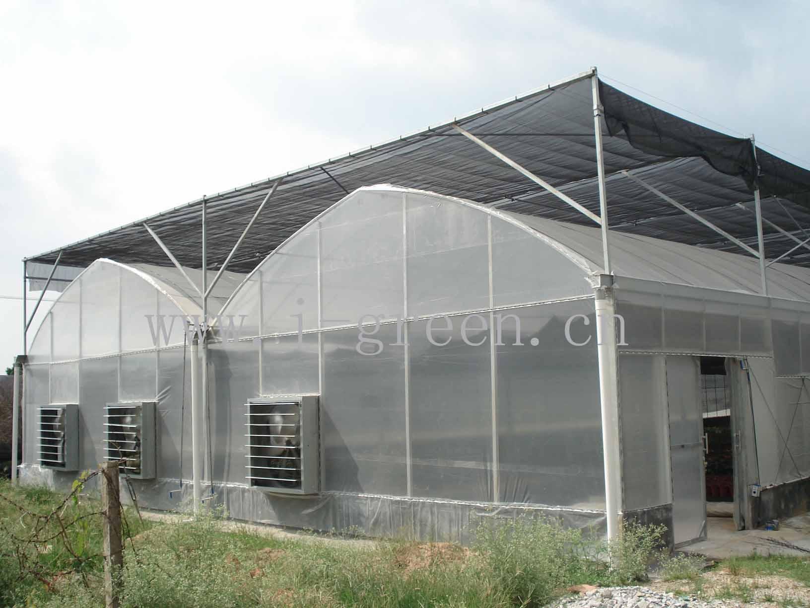 温室大棚设计图高清图片