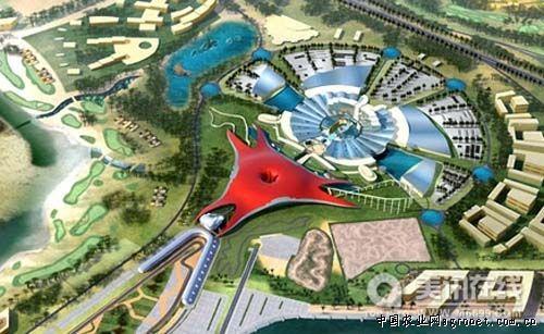 阿布扎比法拉利主题公园设计