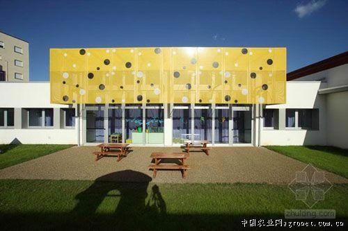 农业资讯,中国农业网新闻频道; 幼儿园建筑立面设计