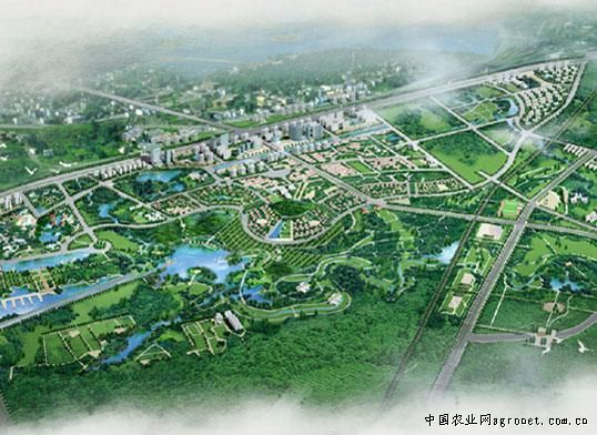 合肥市生态公园景观规划设计