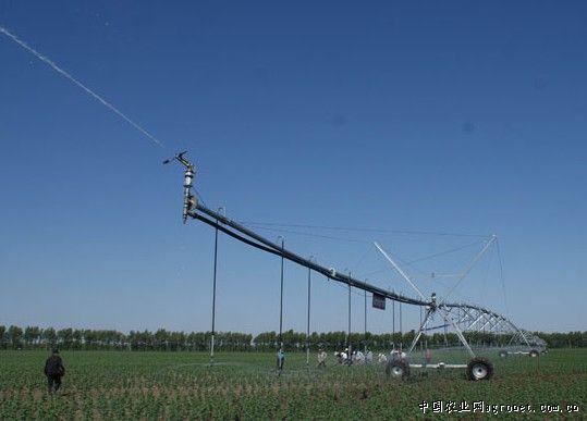 龙江安达 实施节水灌溉项目推进设施农业建设