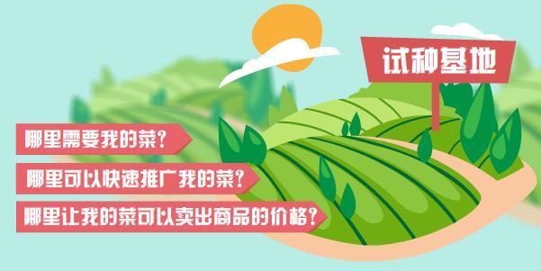"""中国蔬菜网""""360度田间展示""""诚招试种基地"""
