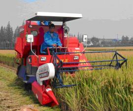 安徽淮南市农业机械化创历史最好水平