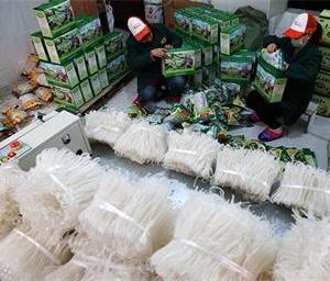 重庆市黔江区:制薯粉 备年货
