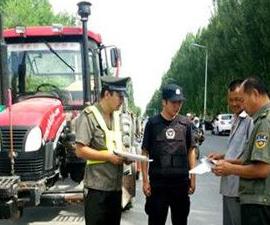 新疆沙湾县启动农机安全生产联合执法检查